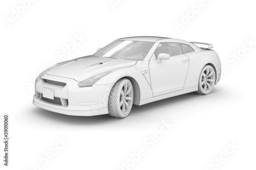 Sport Car (white)