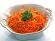Salade de carottes râpées