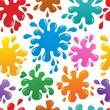 Seamless background with blots 1