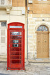 Telephone booth in Malta