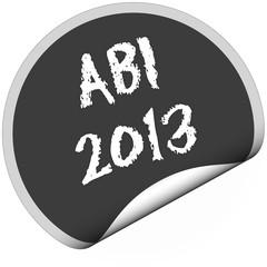 TF-Sticker rund curl unten ABI 2013