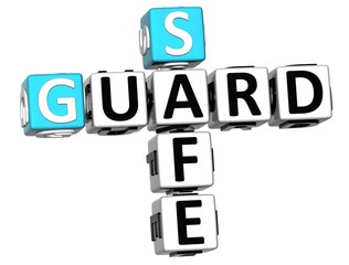 3D Guard Safe Crossword