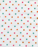 polka-dot fabric background