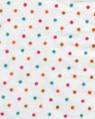 polka-dot fabric background