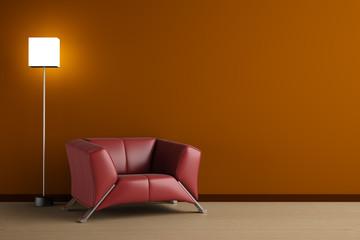 3d render home Interior