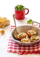 Crumble di pomodori alla provenzale