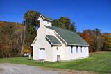 Small church in the Appalachian mountains