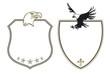 Wappen mit Adlern
