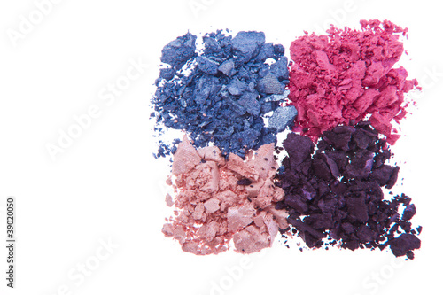crushed eyeshadows