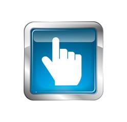 Pointer hand icon