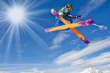 Fototapety Skispaß