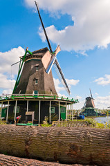 Holland windmills view