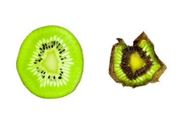 Seneszenz einer Kiwi