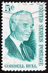 Postage stamp USA 1963 Cordell Hull, 47th US Secretary of State