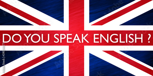 drapeau anglais - do you speak english