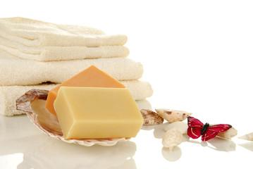 Hand made spa soap