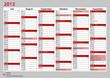 Kalender Deutschland 2013 Juli - Dezember