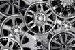 steel alloy car disks