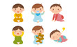 赤ちゃんのイラスト/男の子