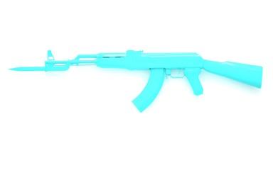 ak-47 blue