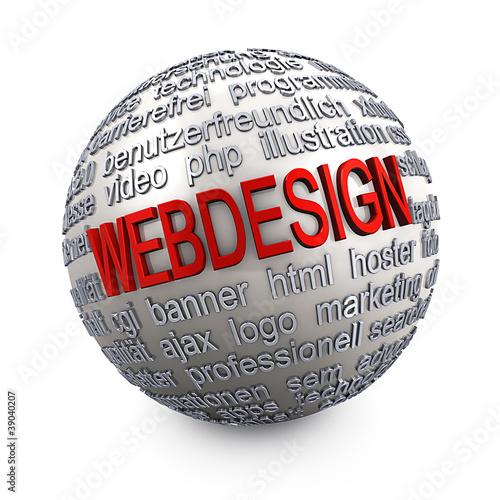 Webdesign - Kugel