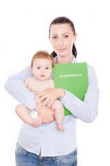 jobsuche mit baby