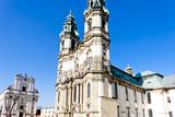 pilgrimage church in Krzeszow, Silesia, Poland poster