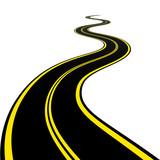 Fototapety vector winding road