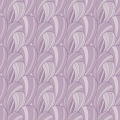 Violet abstract seamless pattern