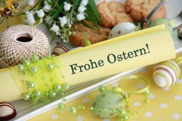 Oster-Tischarrangement