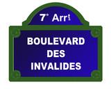 boulevard des invalides poster