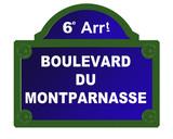 boulevard de montparnasse poster