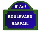 boulevard raspail poster