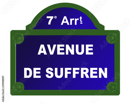 avenue de suffren