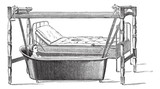 Fig. 140. Dupont apparatus for transportation of patients from t poster