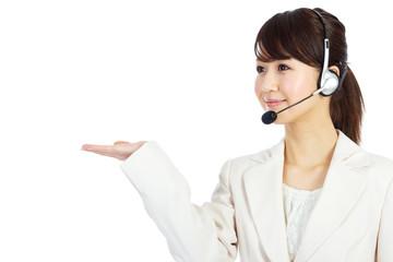 Beautiful business operator