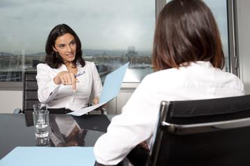 Beratungsgespräch beim Finanzberater