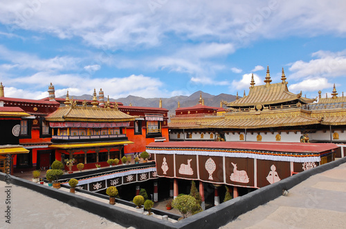 Jokhang temple in Lhasa, Tibet