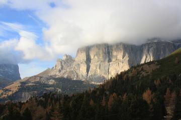 Dolomiti mountains, Unesco natural world heritage (Italy)