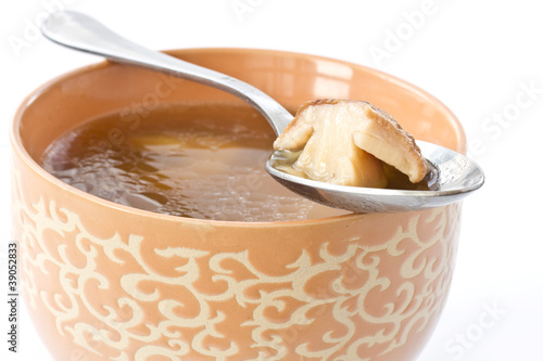 soup with mushrooms