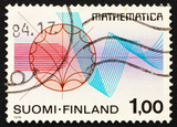 Postage stamp Finland 1978 Function Theory and Rhythmical Lines poster
