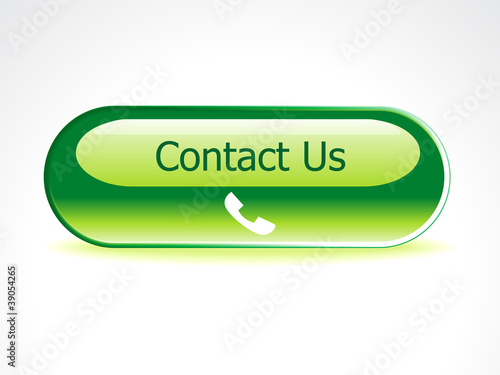 abstract contact us button