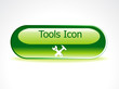 abstract glossy tools button