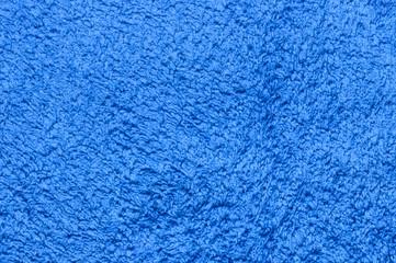 blauer Frottee