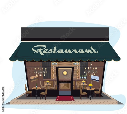 Restaurant icon, lots of detailes
