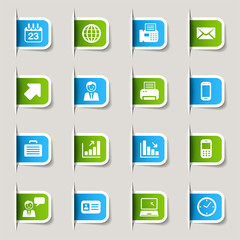 Label - Office and Business icons