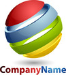 Rainbow Sphere Logo