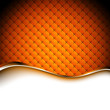 Abstract orange background. Vector illustration