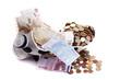 Euro money in piggy bank