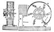Ventilator, vintage engraving.